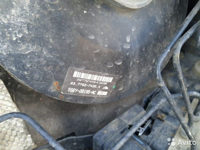 89270165946 Вакуумный усилитель Ford Fusion CBK fxja 2005-2012