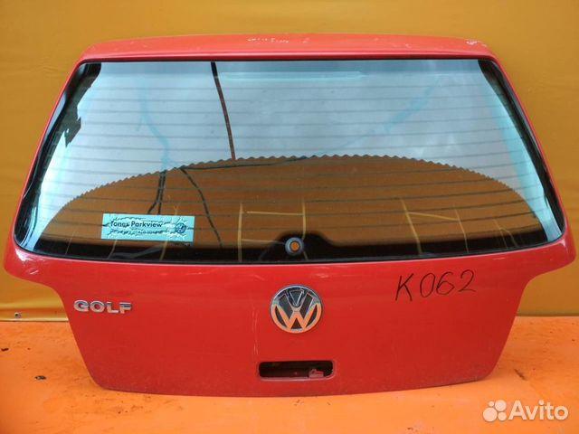 84732022776 Дверь багажника со стеклом Volkswagen Golf 4 1997