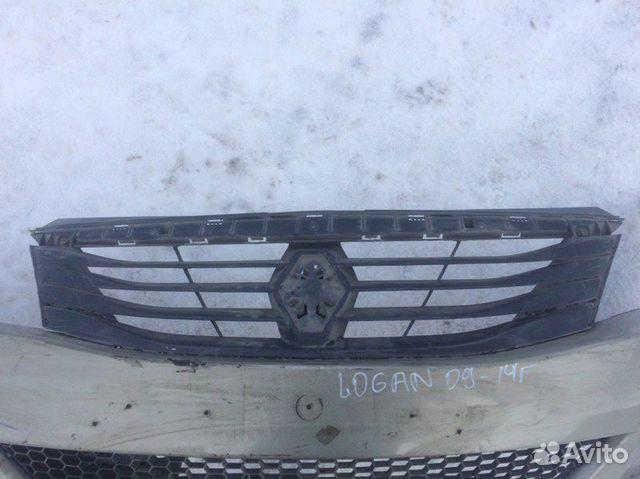 Решетка радиатора передняя Renault Logan 2005-2014 купить 1