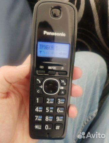 Телефон panasonic KX-TG1612RUH новый
