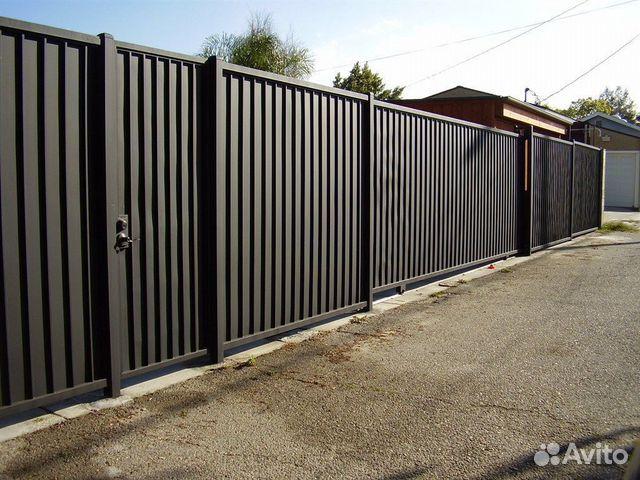 Забор из профнастила под ключ 89270798222 купить 1