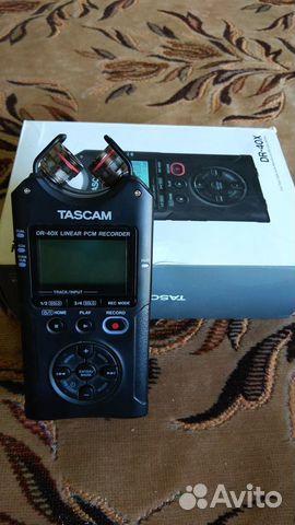 Рекордер Tascam DR 40x  купить 2
