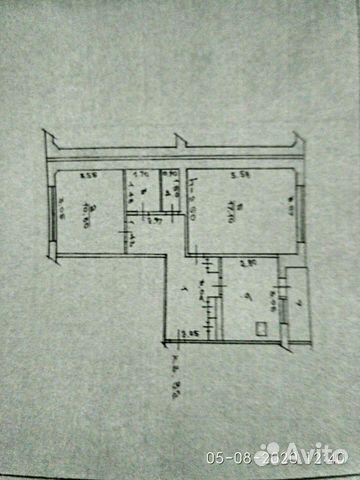 2-к квартира, 53 м², 3/5 эт.  89063828437 купить 1