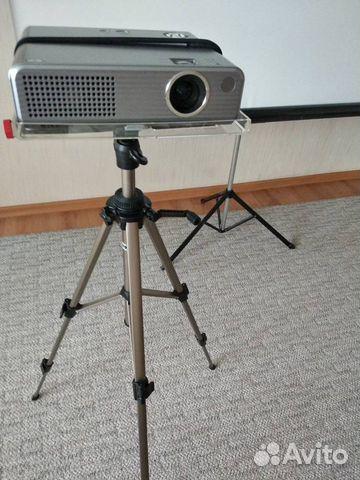 Проектор Panasonic PT-P1SDE+Экран 160х160напольный  89193505651 купить 5