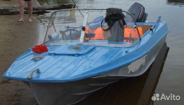 лодка мкм с выносным транцем