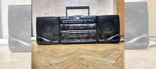 Музыкальный центр sharp GX-CD130Y(BK)