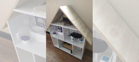 Домик кукольный + мебель