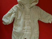 Плюшевый комбинезон для новорожденного 56 см