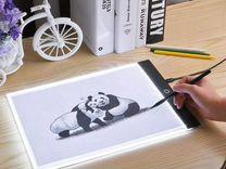 Планшет графический светодиодный для рисования