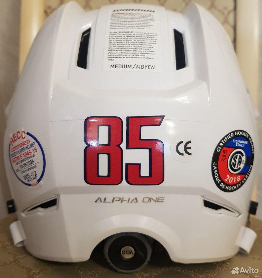 Топовый хоккейный шлем Warrior alpha one. Размер M  89143382906 купить 2
