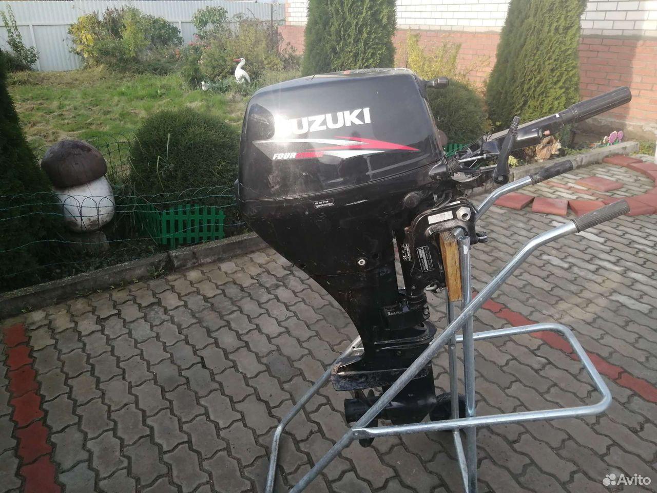 Мотор suzuki DF15