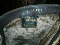 Кожаные сапоги 41 размера