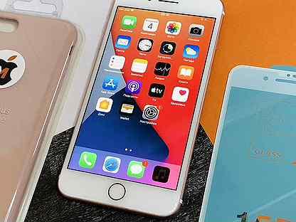 256GB iPhone 7 Plus Rose Gold / Ростест / Оригинал