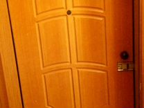 Дверь металлическая 96х200 с рамкой и замком