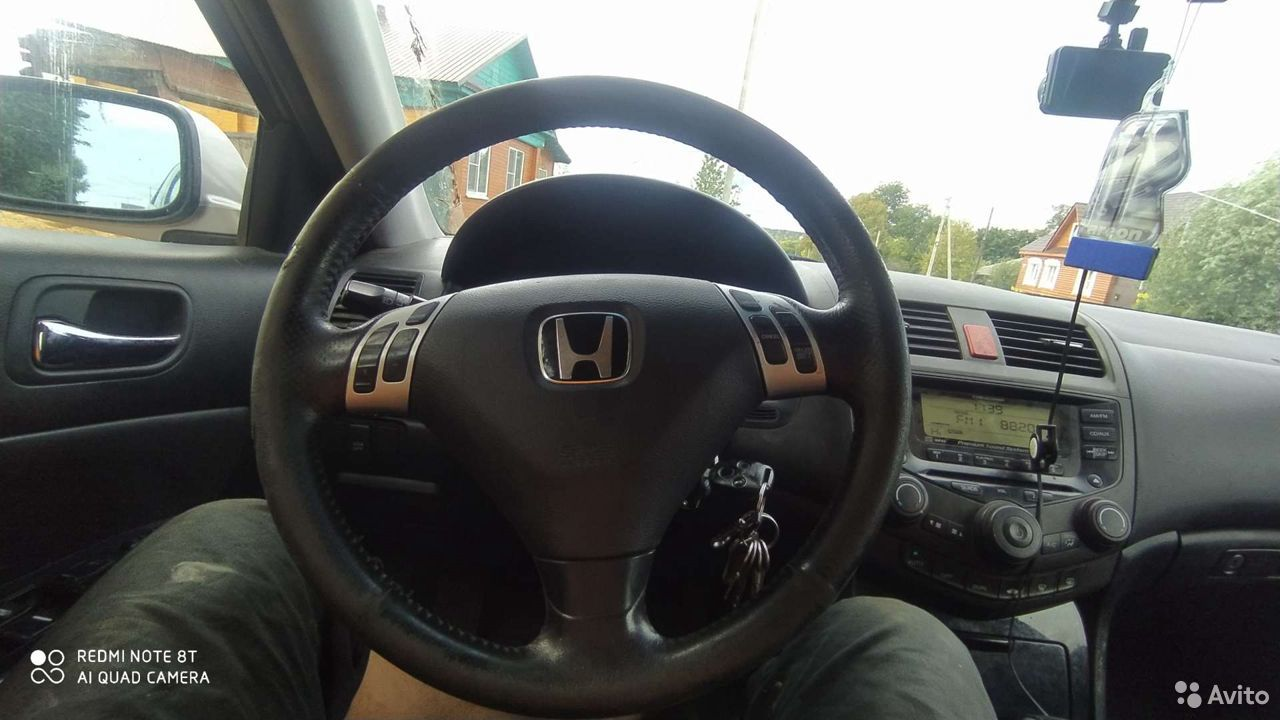 Руль Хонда Аккорд 7  89065586256 купить 1