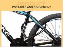 Бронированный антивандальный велозамок