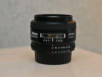 Объектив Nikon AF Nikkor 24mm 1:2.8 D