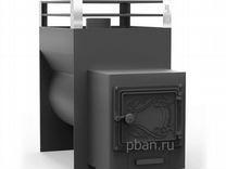 Печь для бани Жара-малютка 500 У с топочным коробо