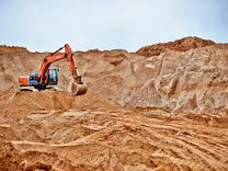 Песок строительный, пгс, щебень, торф грунт от 3 т