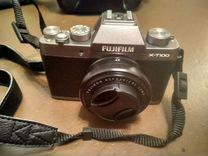 Fujifilm x-t100, обьектив super ebc XF 27mm 1:2.8