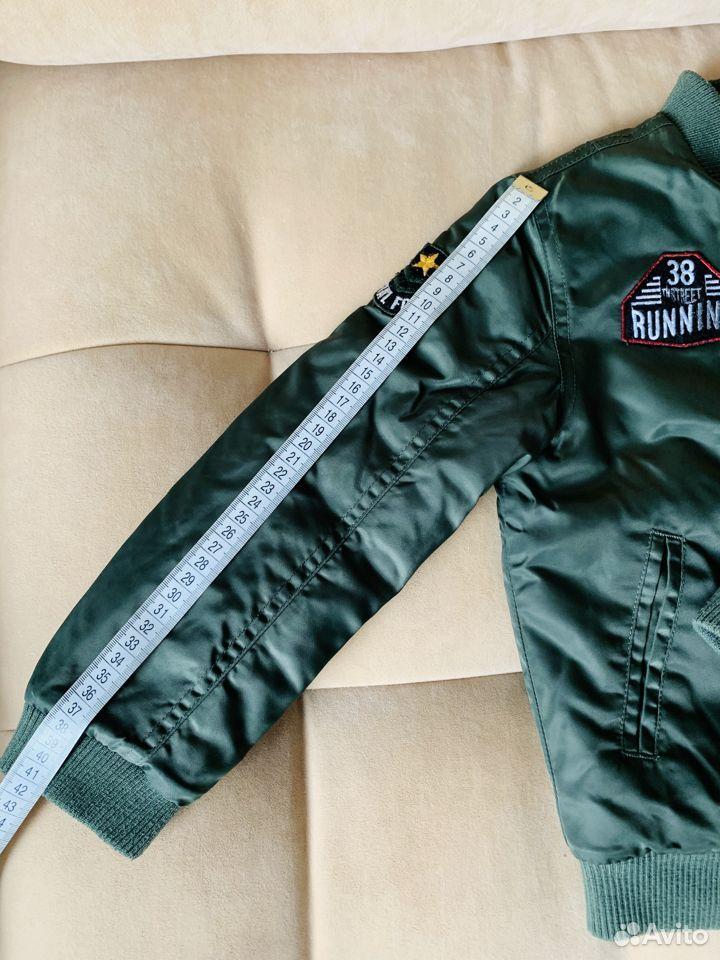 Бомбер р.116 демисезон (куртка утепленная)  89875129176 купить 8