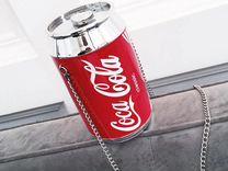 Необычная сумка клатч Coca Cola