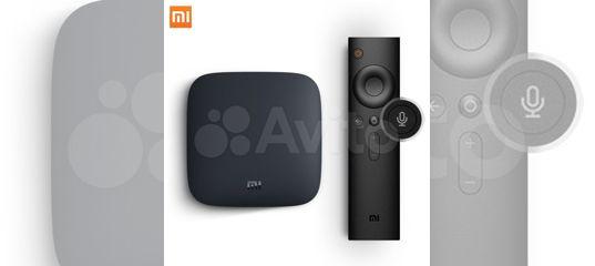 TV приставка Xiaomi Mi Box купить в Кировской области   Бытовая электроника   Авито