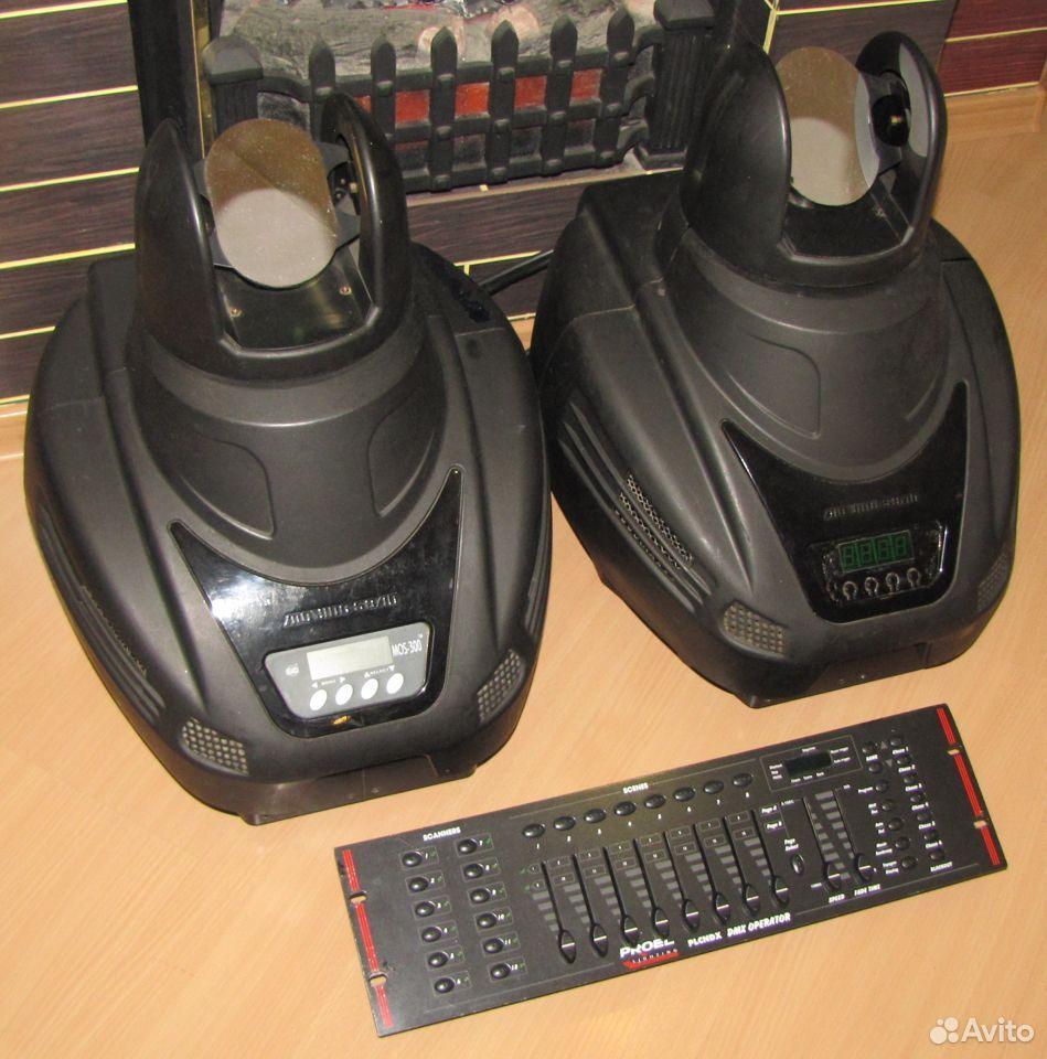 Pro светомузыка головы MOS300 2шт пульт DMX Proel  89128899109 купить 8