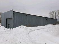Ангар, здание из металлоконструкций
