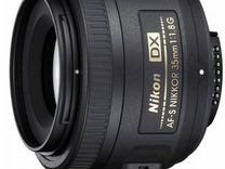Объектив nikkor 35mm 1.8 DX
