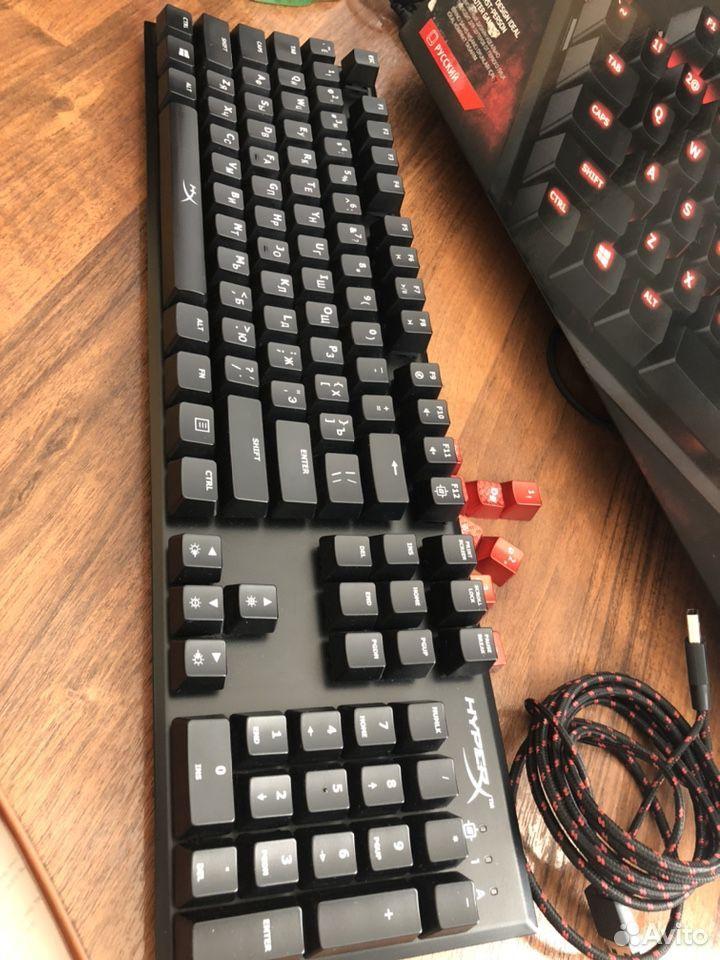 Клавиатура Hyperx alloy fps