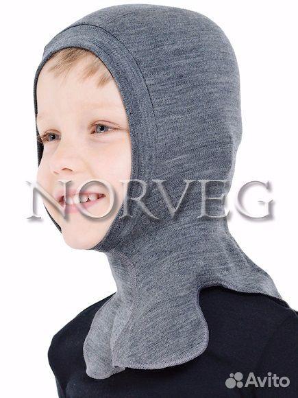 Norveg Soft Термошапка-шлем детский 50-52