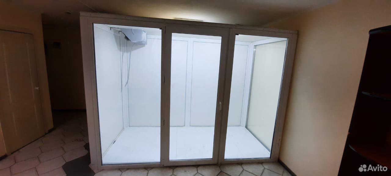 Холодильная камера для магазина цветов