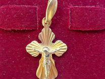 Крест золото 585 пробы № 033761