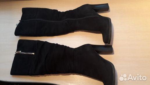 89510985518  Зимние замшевые сапожки 35 размер