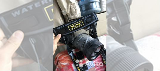Dicapac Wp S10 Waterproof Case For Slr Dslr Cameras Avito