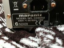 Marantz CD player CD6002