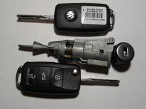 Комплект ключей WV tiguan 5NO 800 375 BH