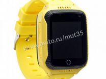 Детские Часы с GPS Smart Baby Watch Т7,желтые
