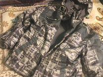 Куртка ветровка утеплённая