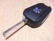Peugeot чип ключ 3 кнопки Hella 5FA010 353-04
