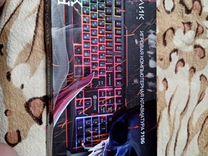 Клавиатура oklick 710G black death, USB, черный
