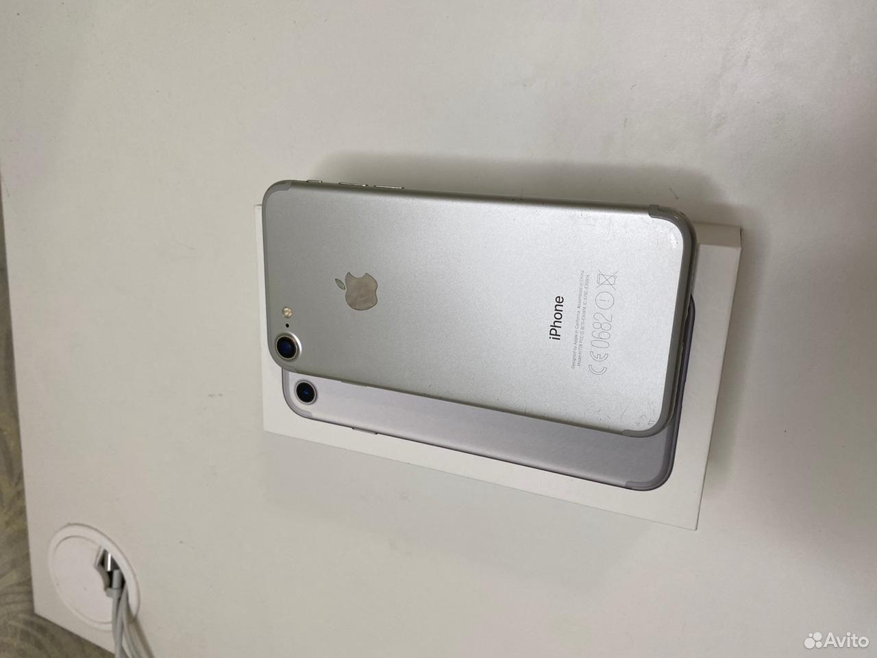 iPhone 7 (серебристый) 32 GB  89002455392 купить 3