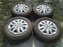 Ланос Шанс Нексия R13 Bridgestone на дисках